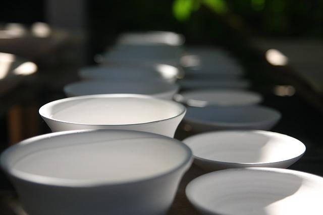 keramické misky