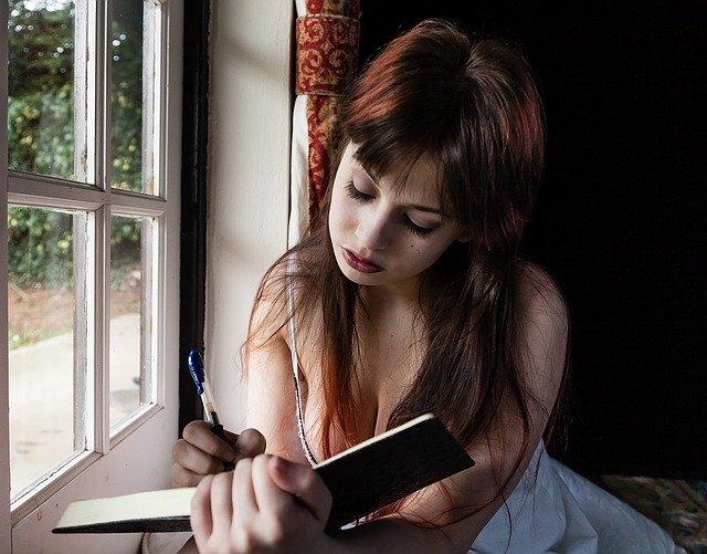 psaní deníčku