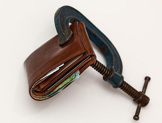 pánská peněženka se svěrákem