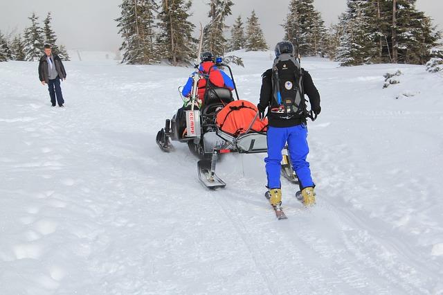 pomoc na horách