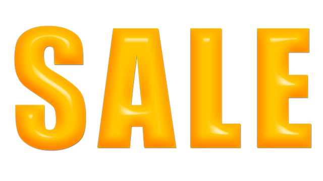 slevy při prodeji