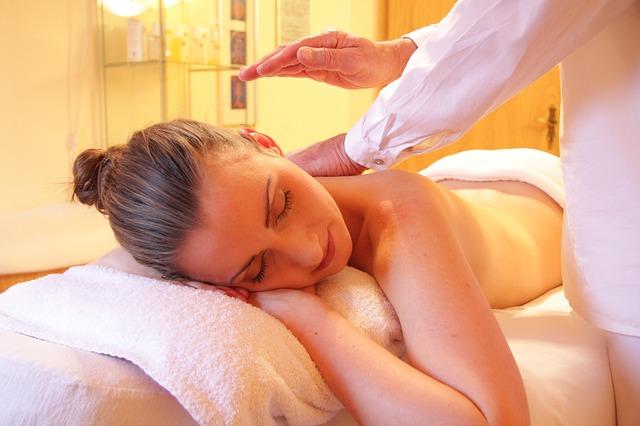 masáž při wellness