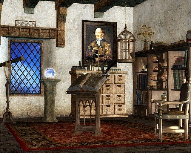 pokoj čaroděje