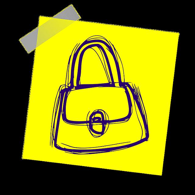 kabelka na obrázku