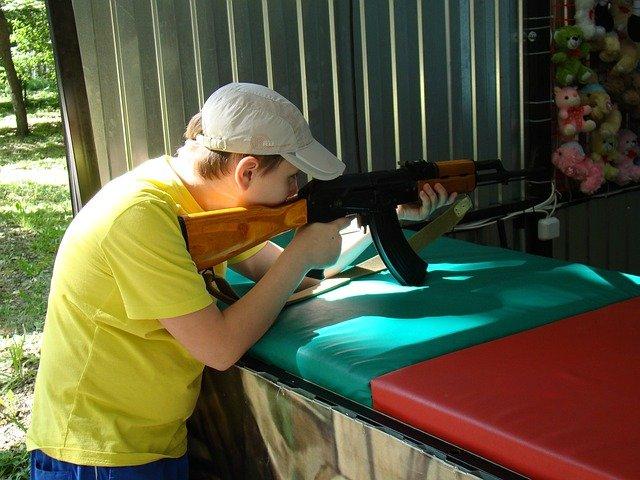 střílení na střelnici