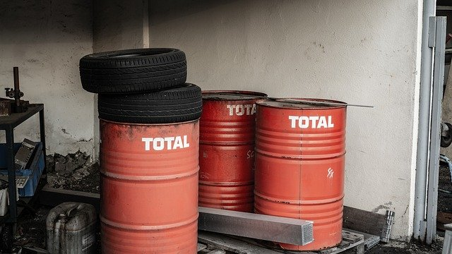 olej Total v sudech