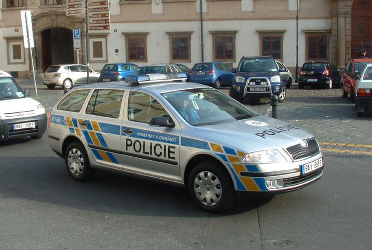 policejní Octavia