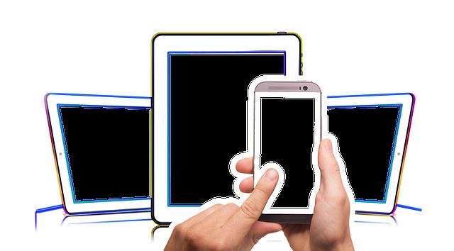 elektronická mobilní zařízení
