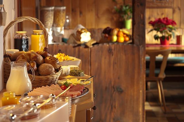 hotelové snídaně