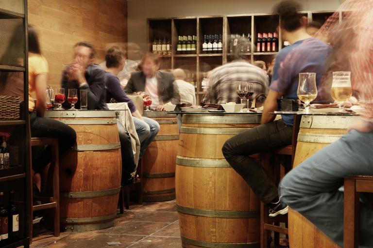 netradiční vinárna