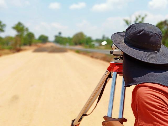 měření vzdálenosti v exteriéru klobouk
